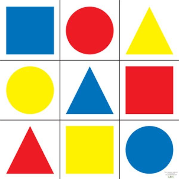 Tarcze figury geometryczne kolorowe - Tarcze sylwetki + IPSC ...